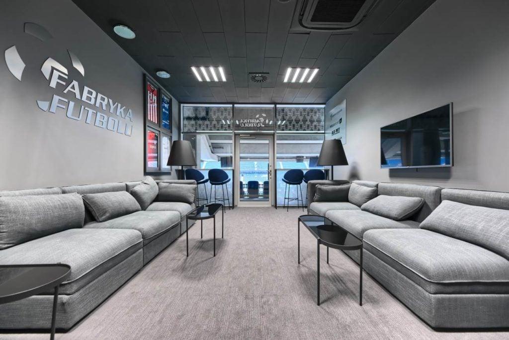 fabryka futbolu stadion poznań